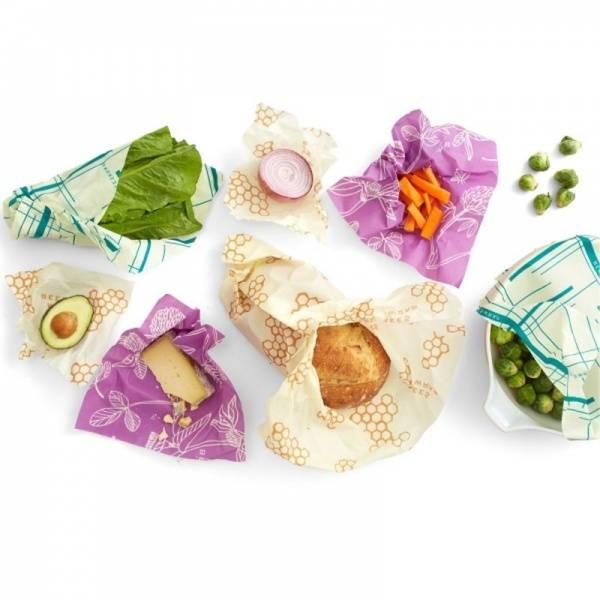 Bess Wrap Variety pack marine + turkis