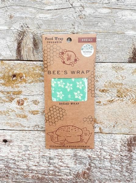 Bees Wrap til brød turkis